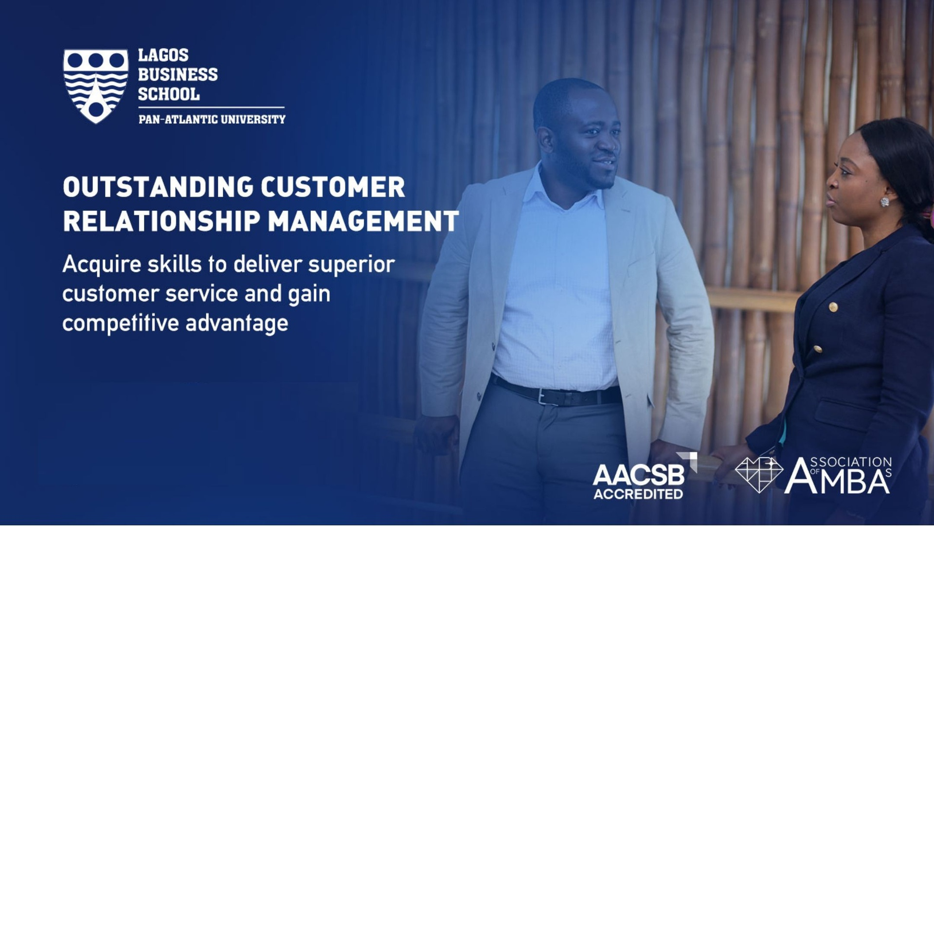 Outstanding Customer Relationship Management